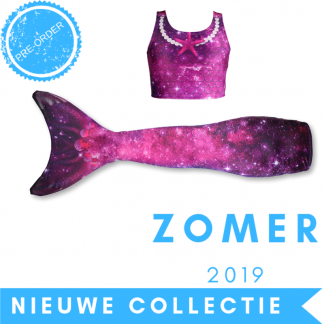 Zeemeermin staart met topje en monovin 2019 Star of the Sea PurpleZeemeermin staart met topje en monovin 2019 Star of the Sea Purple